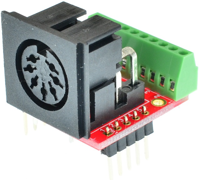 Din 7 Female connector Breakout Board