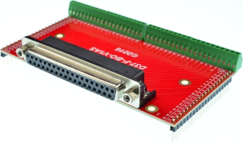 DB37 Female Connector Breakout Board