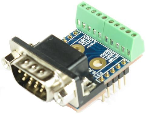 DB9 COM Port RS232 Male connector Breakout Board