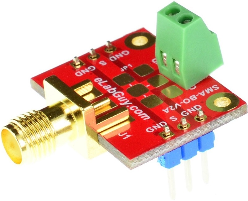 SMA SubMiniature version A Female Breakout Board