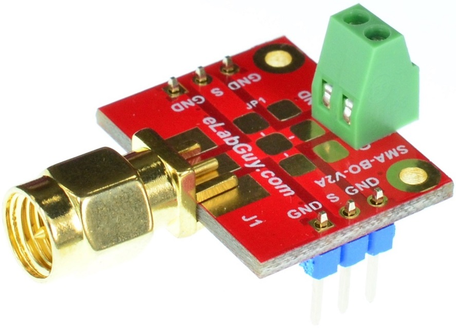 SMA SubMiniature version A Male Breakout Board