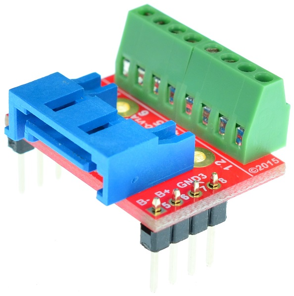 SATA Serial ATA Female connector Breakout Board